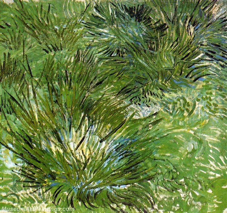 Clumps of Grass Painting