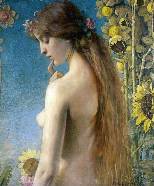Clytie by Louis Welden Hawkins