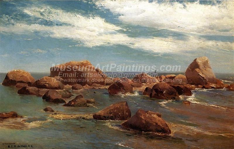 Coastal Scene Rocky Coast