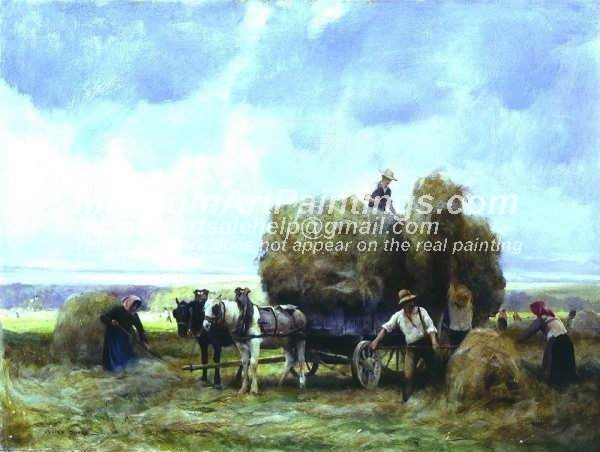 Countryside Oil Painting 012