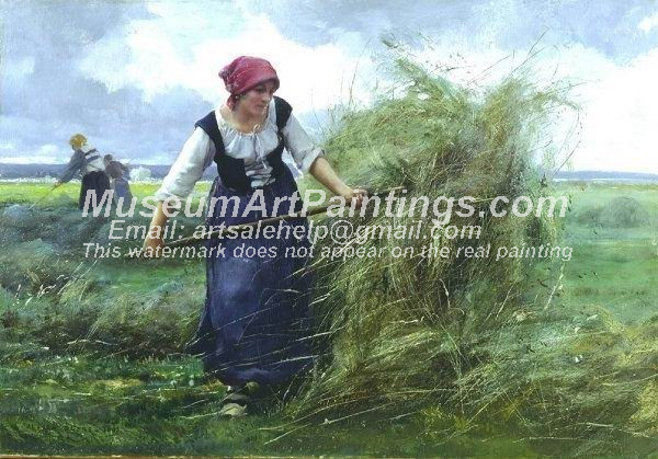 Countryside Oil Painting 023