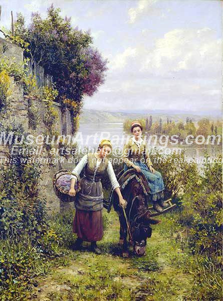 Countryside Oil Painting 024
