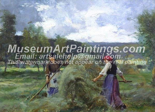 Countryside Oil Painting 025