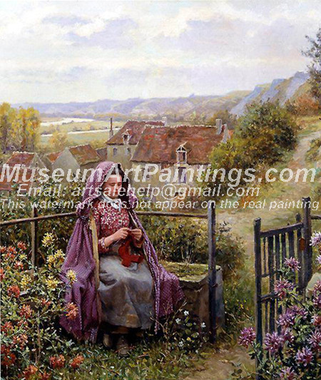 Countryside Oil Painting 042