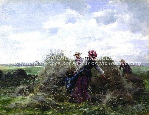 Countryside Oil Painting 047