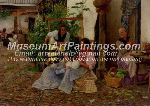 Countryside Oil Painting 049