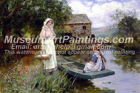 Countryside Oil Painting 050