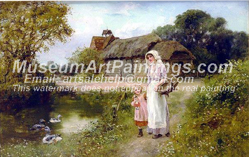 Countryside Oil Painting 051