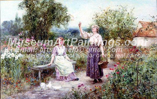 Countryside Oil Painting 052