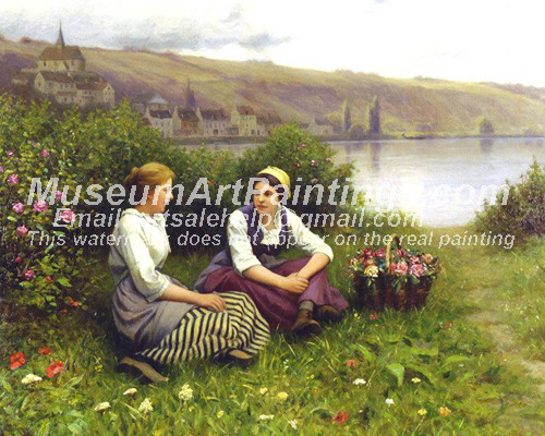Countryside Oil Paintings 055