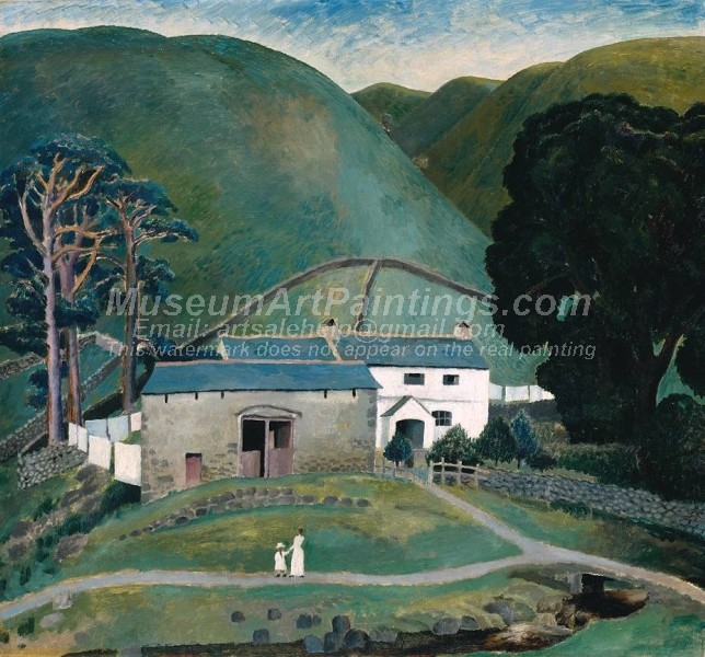Countryside Paintings Farm at Watendlath