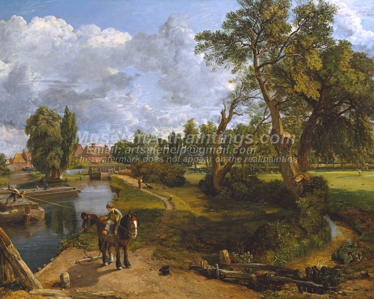 Countryside Paintings Flatford Mill