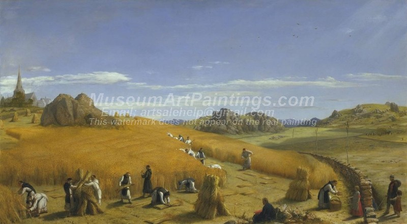 Countryside Paintings Laborare est Orare