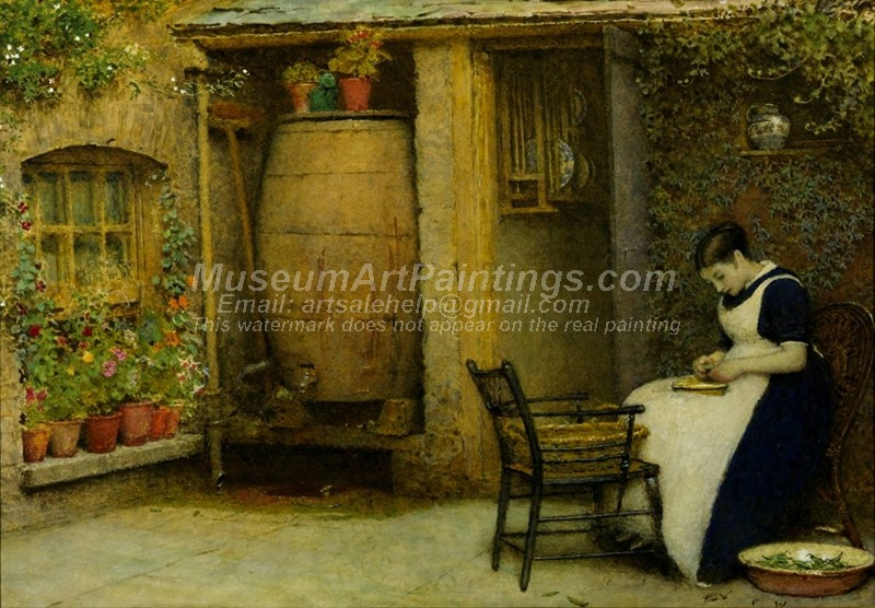 Countryside Paintings The Housewife
