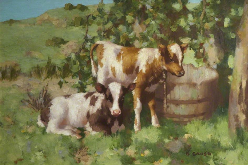 Cows Cow Paintings For Sale Museumartpaintings Com