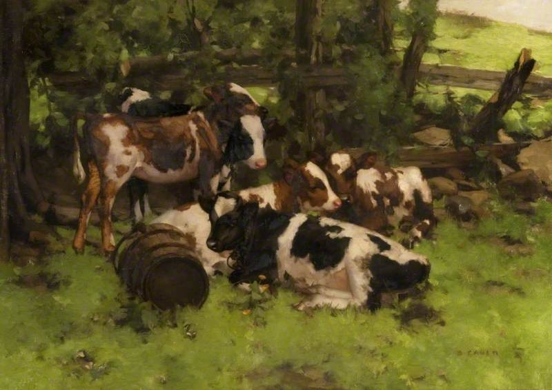 Cow Paintings 004