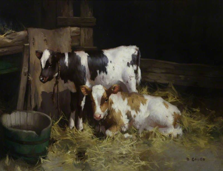 Cow Paintings 005