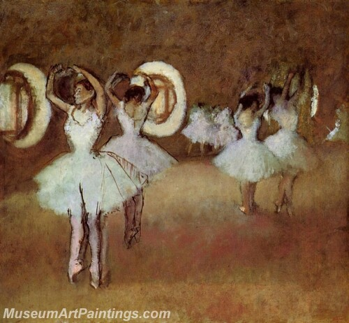 Dance Rehearsal in theStudio of the Opera Painting