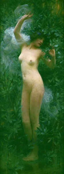 Daphne by Arthur Hacker