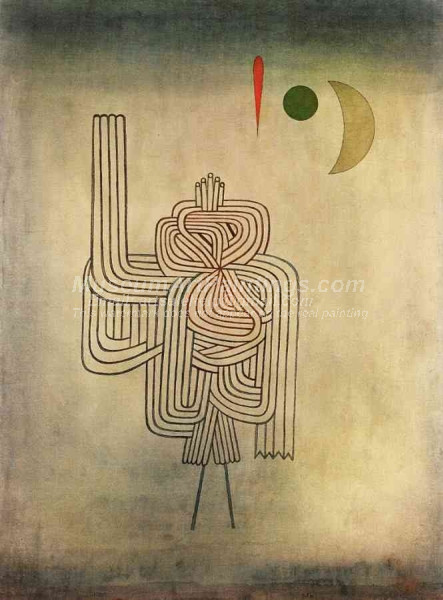 Departure of the Ghost by Paul Klee