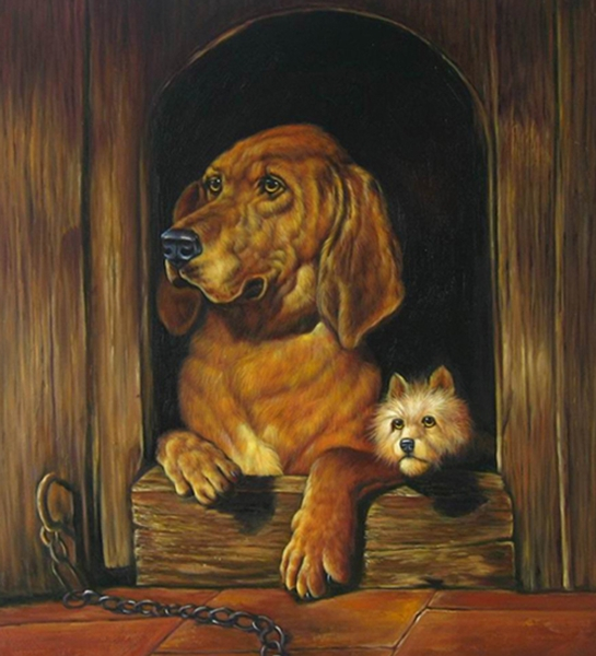 Dignity and Impudence by Sir Edwin Landseer