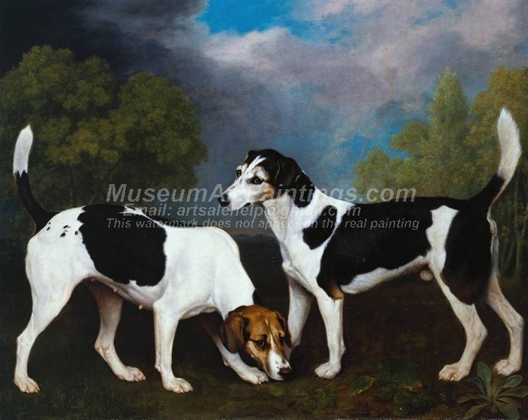 Dog Oil Paintings 001