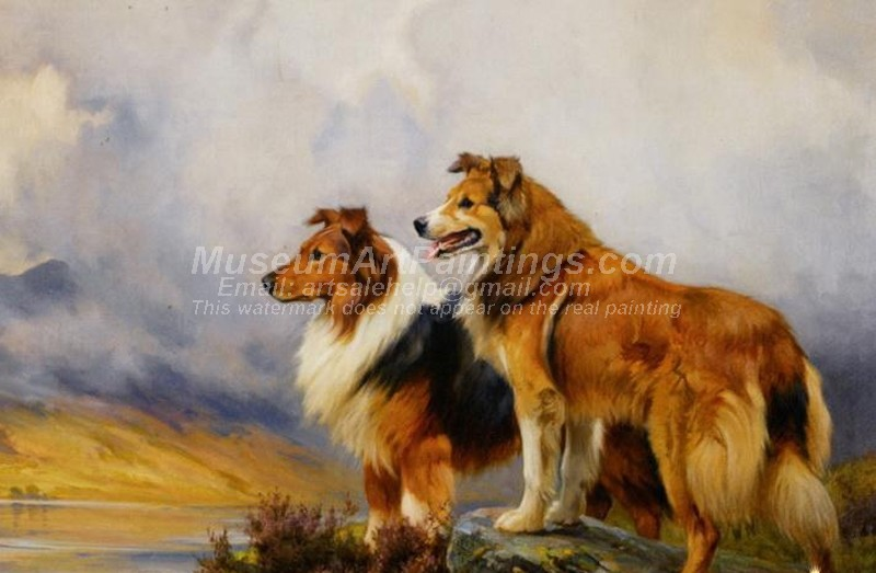 Dog Oil Paintings 003