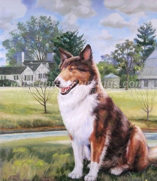 Dog Oil Paintings 005