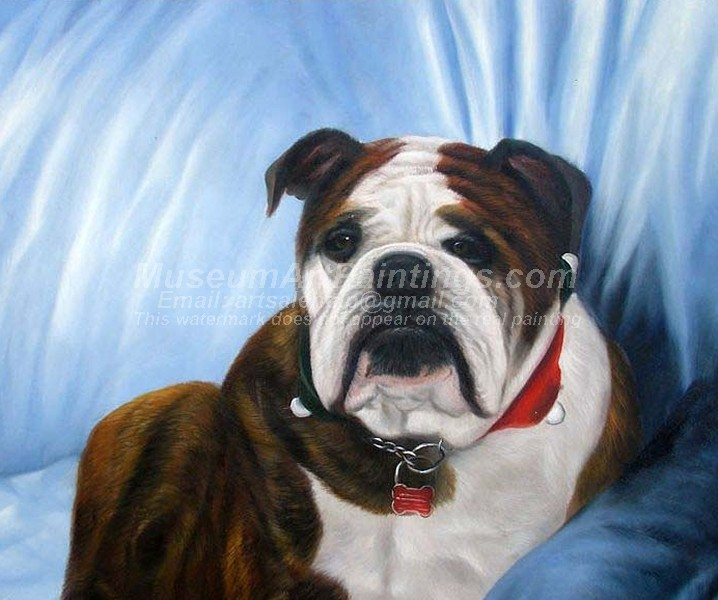Dog Oil Paintings 013