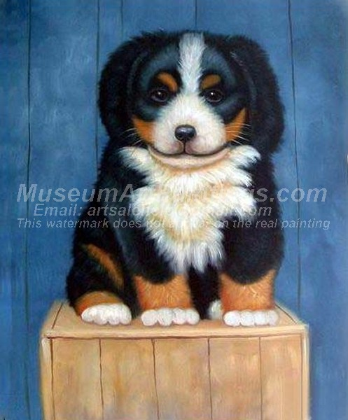 Dog Oil Paintings 014