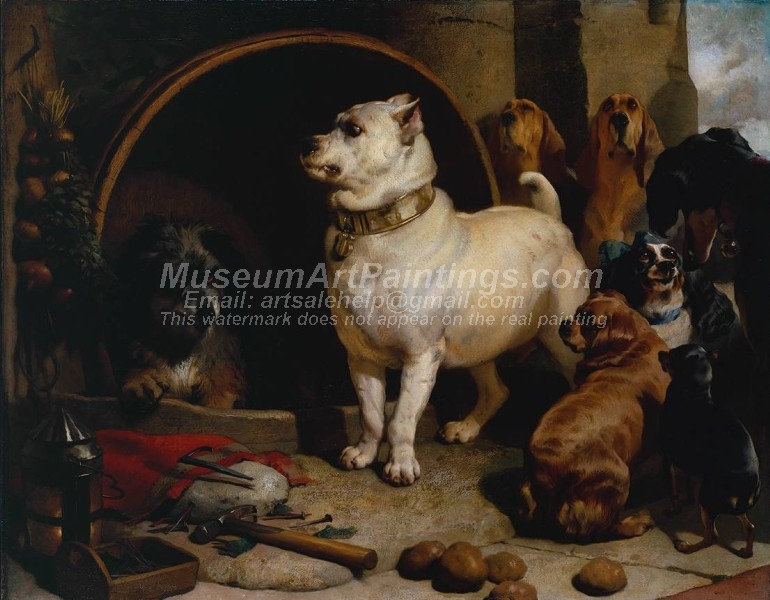 Dog Oil Paintings 016