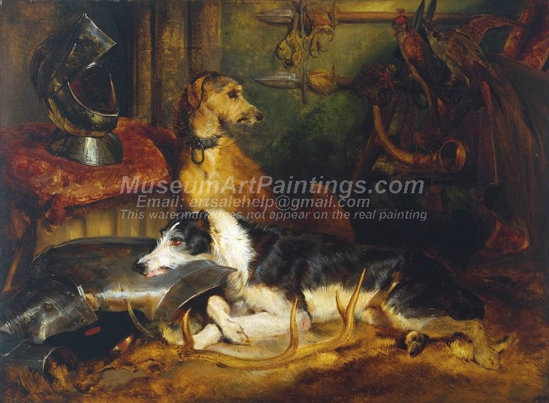Dog Oil Paintings 018