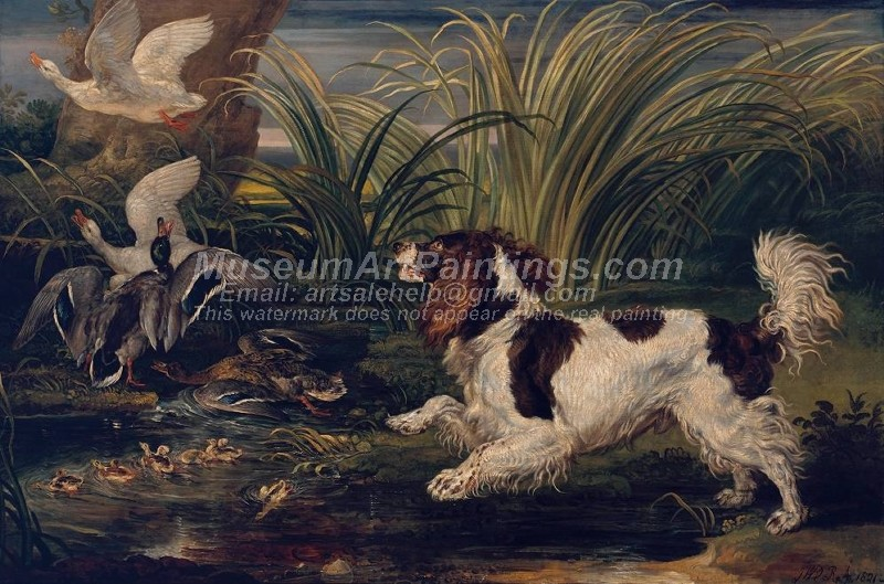 Dog Oil Paintings 019