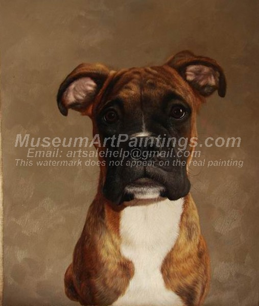 Dog Oil Paintings 021