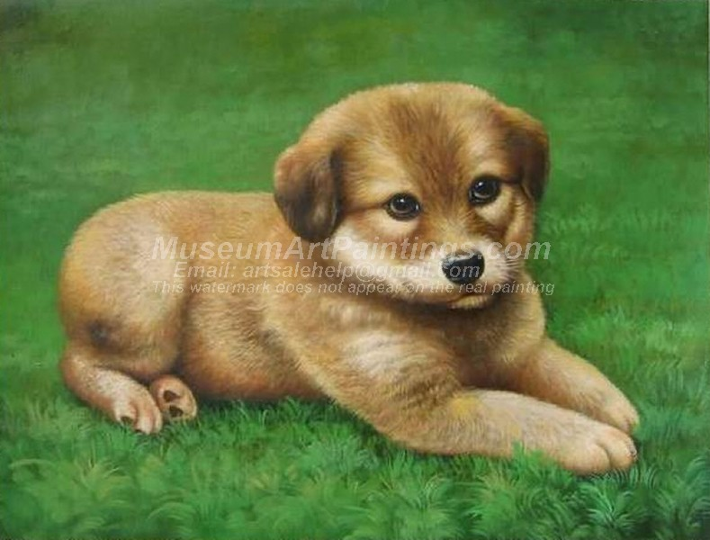 Dog Oil Paintings 022