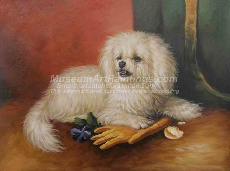 Dog Oil Paintings 023