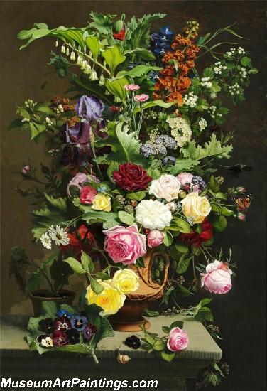 En Vase med Roserne