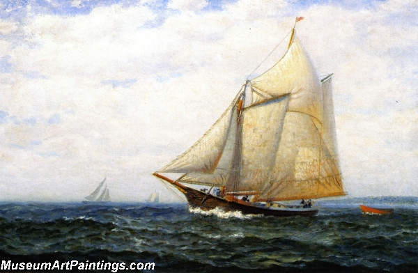 Famous Boat Paintings Cruising Yacht
