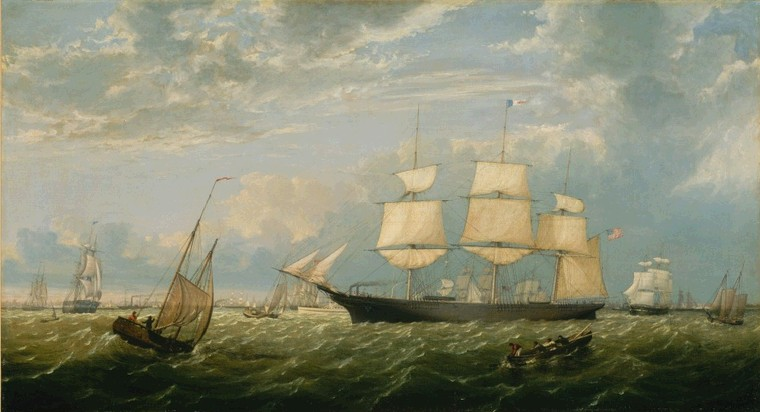 boat paintings for sale On famous boat paintings