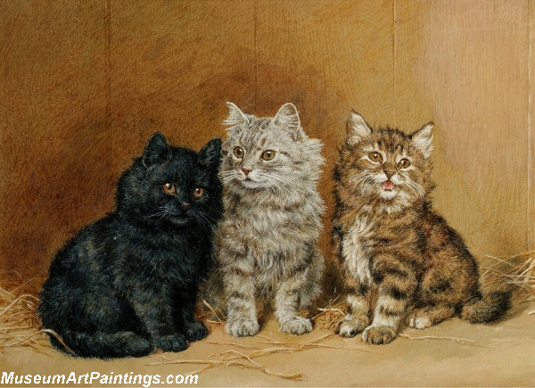 Famous Cat Paintings Three Cats