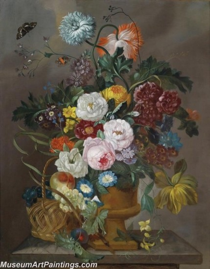 Famous Classical Flower Oil Paintings 010