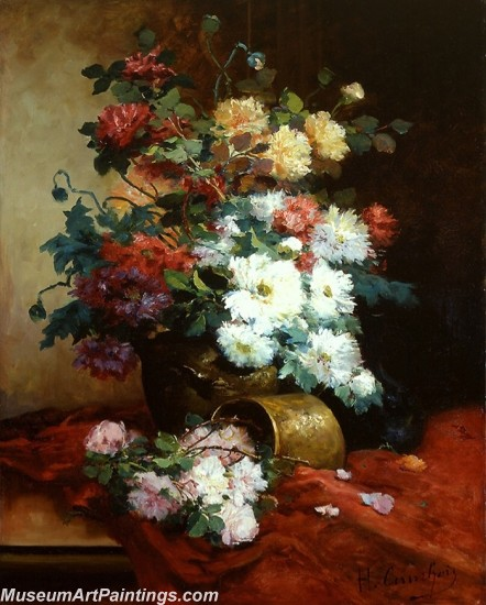 Famous Classical Flower Oil Paintings 011