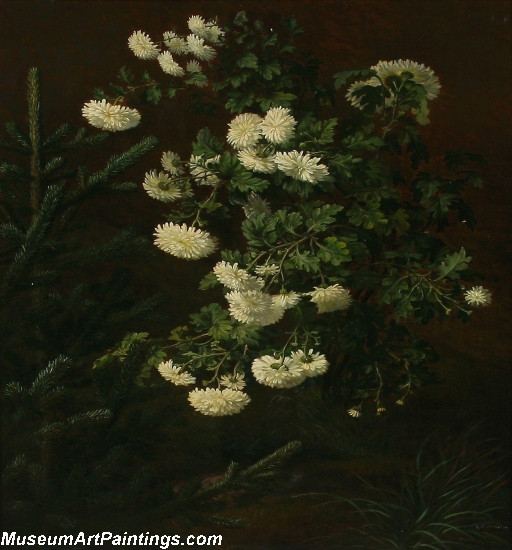 Famous Classical Flower Paintings 001