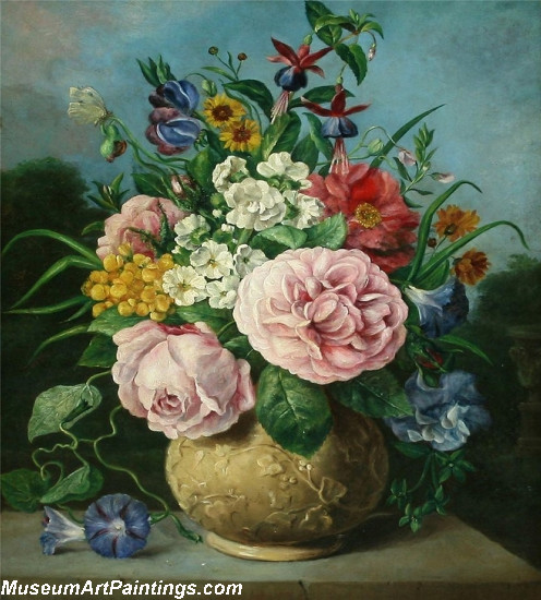 Famous Classical Flower Paintings 002