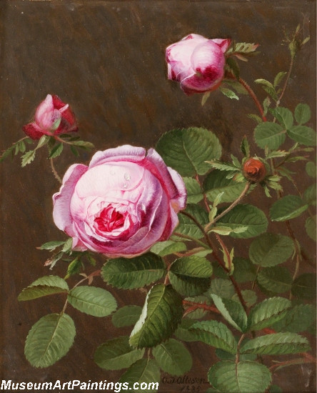 Famous Classical Flower Paintings 003
