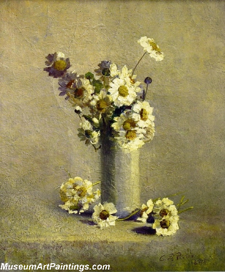 Famous Classical Flower Paintings Daises