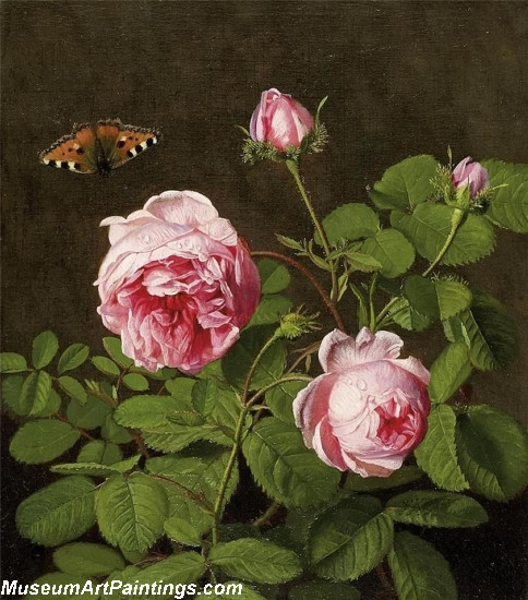 Famous Classical Still Life with Roses
