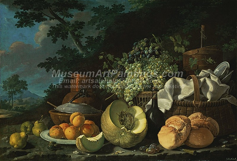 Famous Fruit Paintings The Afternoon Meal