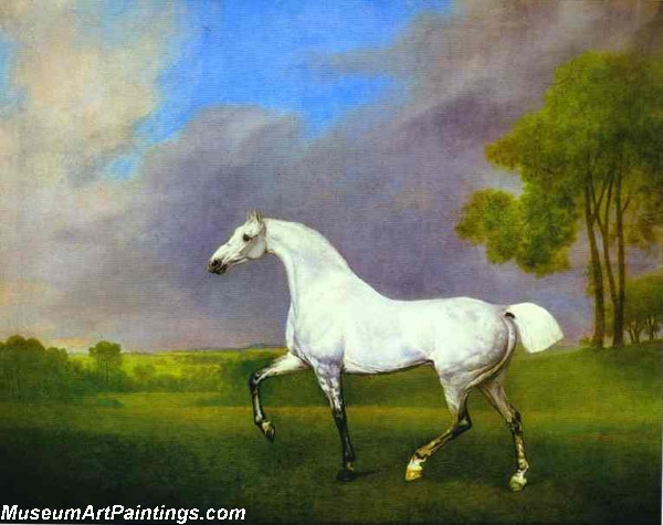 Famous Horse Painting A Grey Horse