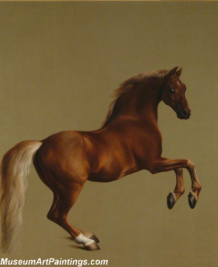 Famous Horse Painting Whistlejacket by George Stubbs